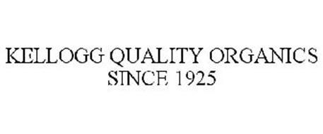 KELLOGG QUALITY ORGANICS SINCE 1925