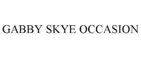 GABBY SKYE OCCASION