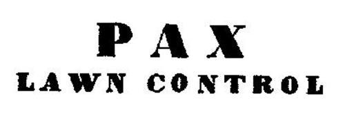 PAX LAWN CONTROL