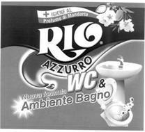 RIO AZZURRO WC & AMBIENTE BAGNO