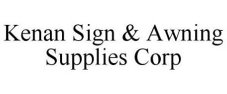 kenan sign awning supplies corp trademark of kenan sign awning