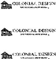 COLONIAL DESIGN AND NATIONAL SHOW HOMES