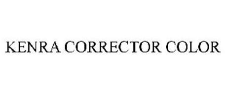 kenra corrector color trademark of kenra professional llc