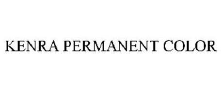 kenra permanent color trademark of kenra professional llc