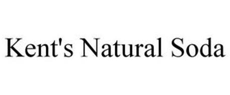 KENT'S NATURAL SODA