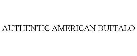 AUTHENTIC AMERICAN BUFFALO