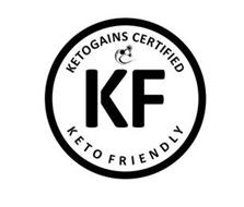 KETOGAINS CERTIFIED KF KETO FRIENDLY