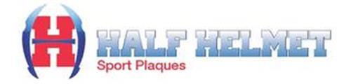 H HALF HELMET SPORT PLAQUES