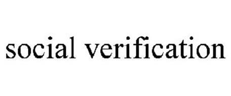 SOCIAL VERIFICATION