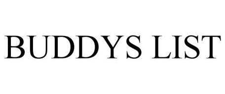 BUDDY'S LIST