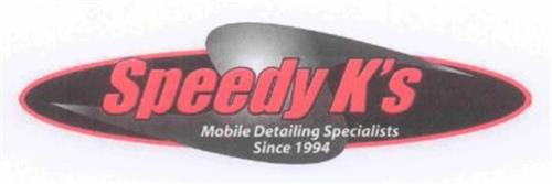 SPEEDY K'S MOBILE DETAILING SPECIALIST SINCE 1994