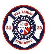 KEY LERGO 24 25 FIRE DEPT. · DIVE CAPITAL · OF THE WORLD