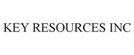 KEY RESOURCES INC
