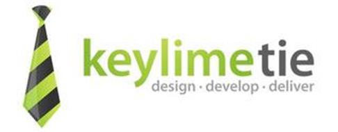 KEYLIMETIE DESIGN · DEVELOPE · DELIVER