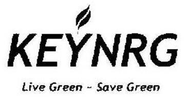 KEYNRG LIVE GREEN - SAVE GREEN