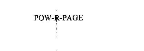 POW-R-PAGE