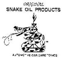 ORIGINAL SNAKE OIL PRODUCTS AUTOMOTIVE CAR CARE TONICS