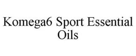 KOMEGA6 SPORT ESSENTIAL OILS