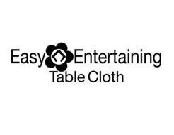 EASY ENTERTAINING TABLE CLOTH