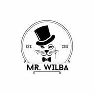 MR. WILBA EST 2017