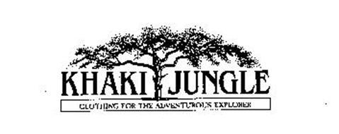 KHAKI JUNGLE CLOTHING FOR THE ADVENTUROUS EXPLORER
