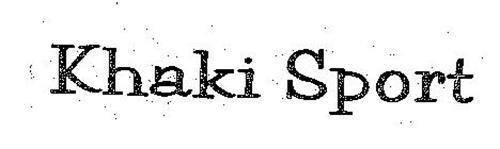 KHAKI SPORT