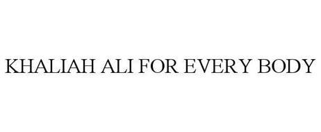 KHALIAH ALI FOR EVERY BODY