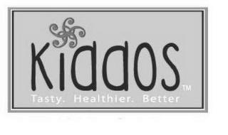 KIDDOS TASTY. HEALTHIER. BETTER