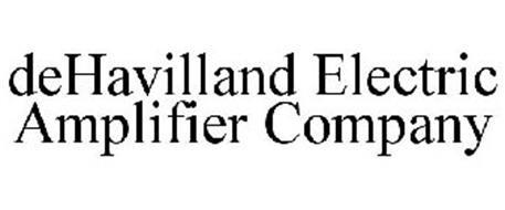 DEHAVILLAND ELECTRIC AMPLIFIER COMPANY