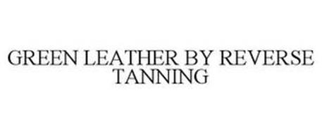 GREEN LEATHER BY REVERSE TANNING