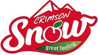 CRIMSON SNOW GREAT FEELING