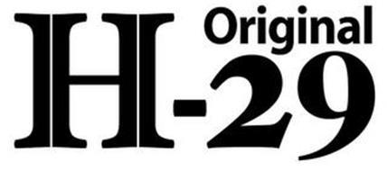 ORIGINAL H-29