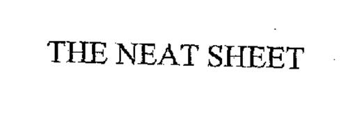 THE NEAT SHEET