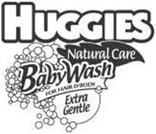 HUGGIES NATURAL CARE BABYWASH FOR HAIR & BODY EXTRA GENTLE