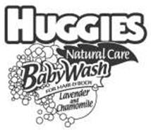 HUGGIES NATURAL CARE BABYWASH FOR HAIR & BODY LAVENDER AND CHAMOMILE