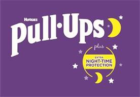 HUGGIES PULL·UPS PLUS EXTRA NIGHT·TIME PROTECTION