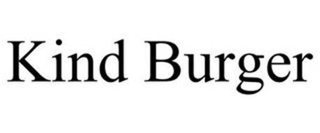 KIND BURGER