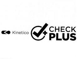 KINETICO CHECK PLUS