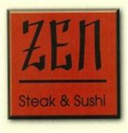 ZEN STEAK & SUSHI