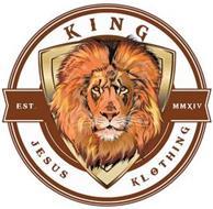 KING JESUS KLOTHING EST. MMXIV