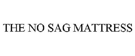 THE NO SAG MATTRESS