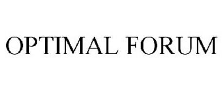 OPTIMAL FORUM