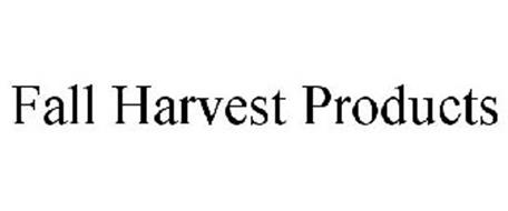 FALL HARVEST PRODUCTS