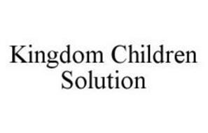KINGDOM CHILDREN SOLUTION