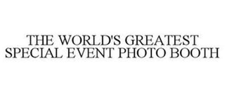 THE WORLD'S GREATEST SPECIAL EVENT PHOTO BOOTH