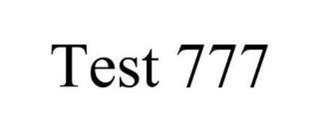 TEST 777