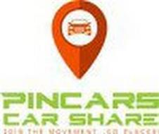 PINCARS CAR SHARE JOIN THE MOVEMENT...GO PLACES!