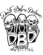 DEATH BEFORE DISHONOR DBD APPAREL