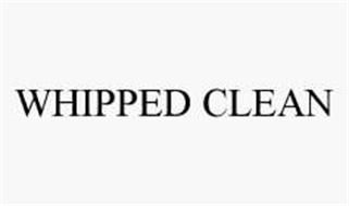 WHIPPED CLEAN