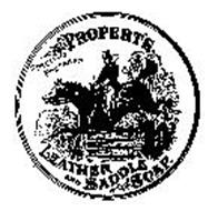 PROPERTS LEATHER AND SADDLE SOAP SPECIALLY PREPARED